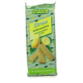Vollkornwaffeln Zitrone