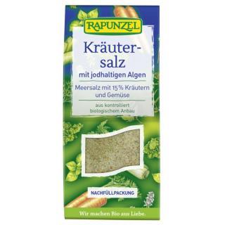 Kräutersalz jodiert mit 15% Kräutern & Gemüse