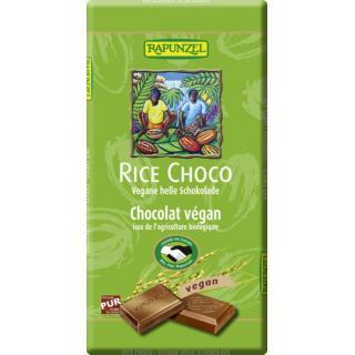 Rice Milk vegane helle Schokolade
