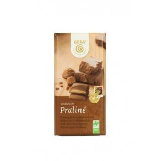 Premium Bio Praline-Schokolade