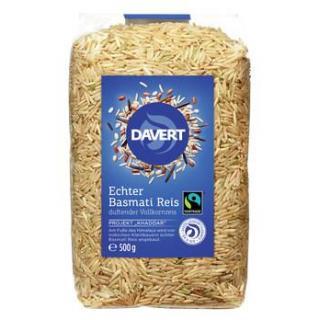 Echter Basmati Reis, braun