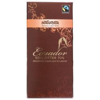 Edelbitter Schokolade Ecuador