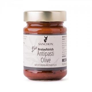 Brotaufstrich Antipasti Olive