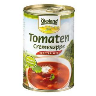 Tomaten Creme Suppe veg.