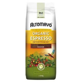 Bio-Espresso entkoffeiniert